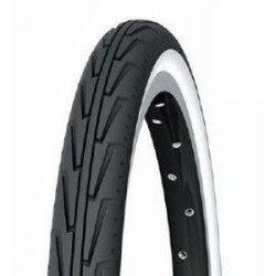 Cubierta MICHELIN CITY J 600A Negro/Blanco