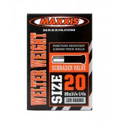 Cámara de aire MAXXIS ULTRALIGHT 20x1.50/1.75 Schrader