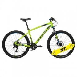 Bicicleta de Montaña ROCKRIDER ST 520 27.5'' Amarillo