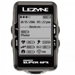 Ciclocomputador GPS Lezyne Super GPS
