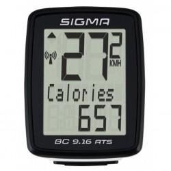 Cuentakilómetros Sigma BC 9.16 ATS sin fil