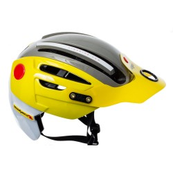 Casco URGE Endur-O-Matic 2 Amarillo/Gris