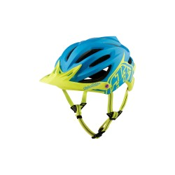 Casco TROY LEE DESIGNS A2 Decoy Mips Azul/Amarillo