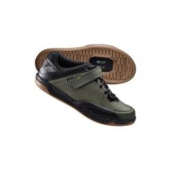 Zapatillas SHIMANO AM5 Verde Kaki