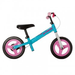 Bicicleta sin pedales B'TWIN RUN RIDE 500 Azul/Rosa