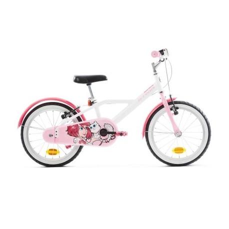 Bicicleta Infantil B'TWIN 500 16'' Docto Girl 4.5-6 años