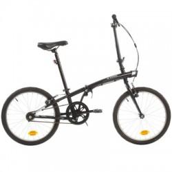 Bicicleta Plegable B'TWIN TILT 100 20'' Negro