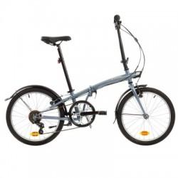 Bicicleta Plegable B'TWIN TILT 120 Gris