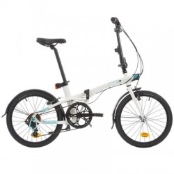 Bicicleta Plegable B'TWIN TILT 500 Blanco