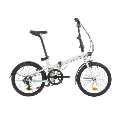Bicicleta Plegable B'TWIN TILT 500 Blanco