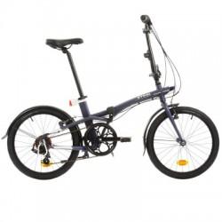 Bicicleta Plegable B'TWIN TILT 500 20'' Azul