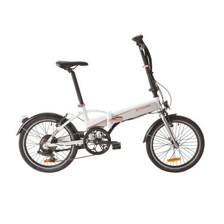 Bicicleta Plegable B'TWIN TILT 500 E Blanco