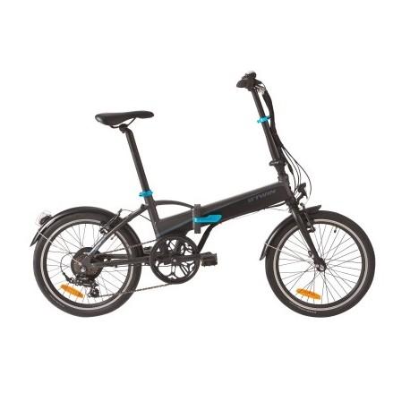 Bicicleta Plegable B'TWIN TILT 500 E Negro