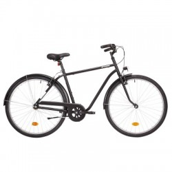 Bicicleta Urbana B'TWIN ELOPS 100 Cuadro Alto