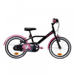 Bicicleta Infantil B'TWIN 500 Spy Hero Girl 4-6 años