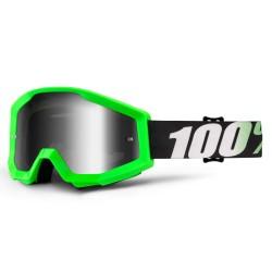 Máscara 100% Strata Arkon Verde Fluo
