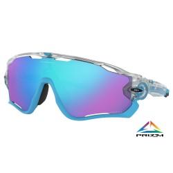 Gafas OAKLEY Jawbreaker Matte Clear Prizm Sapphire