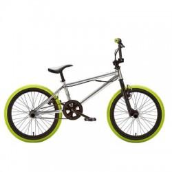 BMX B'TWIN Wipe 520 20'' Gris/Amarillo
