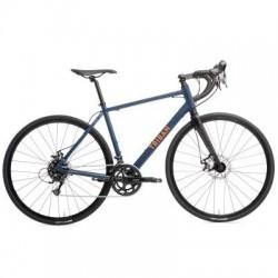 Bicicleta de Carretera TRIBAN RC 120 Azul/Naranja