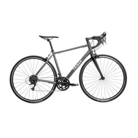 Bicicleta de Carretera TRIBAN RC 120 Gris ABYSS