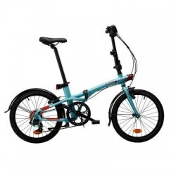 Bicicleta Plegable B'TWIN TILT 500 20'' Azul Claro