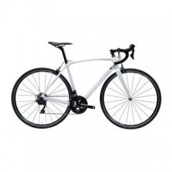 Bicicleta de Carretera VAN RYSEL ULTRA CF Mujer Blanco