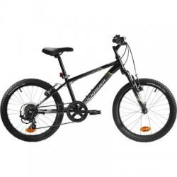 Bicicleta Infantil ROCKRIDER ST 500 20'' 6-9 años Negro