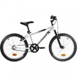 Bicicleta Infantil ROCKRIDER ST 100 20'' 6-9 años Blanco
