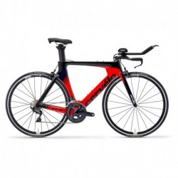Bicicleta de Triatlón CERVELO P3 Rim Shimano Ultegra 11V Rojo/Negro/Azul 2019