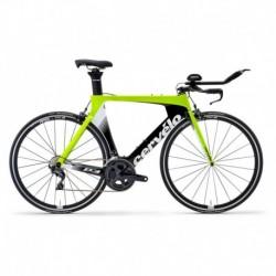 Bicicleta de Triatlón CERVELO P3 Amarillo Fluo/Negro 2019