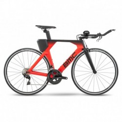 Bicicleta de Triatlón BMC Timemachine 02 Two Rojo/Negro 2020