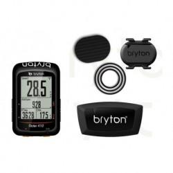 Ciclocomputador GPS BRYTON Rider 410T + Sensor de Corazón/Sensor de Cadencia