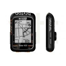 Ciclocomputador GPS BRYTON Rider 450E