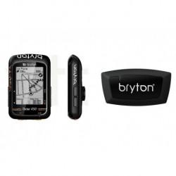 Ciclocomputador GPS BRYTON Rider 450H + Sensor de Corazón