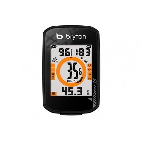 Cuentakilómetros GPS BRYTON Rider 15E