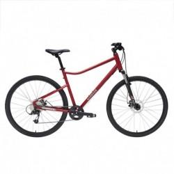 Bicicleta Polivalente RIVERSIDE 500 Burdeos