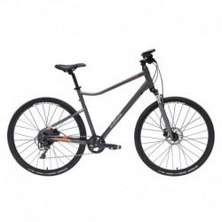 Bicicleta Polivalente RIVERSIDE 900 Gris/Naranja