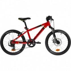 MTB Infantil ROCKRIDER ST 900 20'' 6-9 años Rojo
