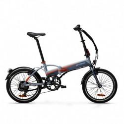 Bicicleta Plegable Eléctrica TILT 500 Negro