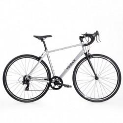 Bicicleta de Carretera TRIBAN RC 100 Gris