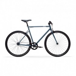 Bicicleta Urbana SINGLE SPEED ELOPS 500 Azul