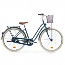 Bicicleta de Ciudad ELOPS 540 Azul Oscuro