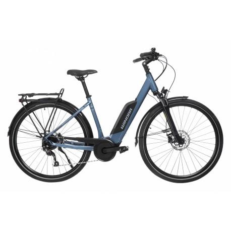 VTC Electrique WINORA Confort 9.4 400Wh Bleu 2020