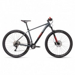 MTB CUBE Attention 27.5'' Gris/Rojo 2021
