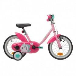 Bicicleta Infantil B'TWIN 500 Unicorn 14'' 3-4.5 años