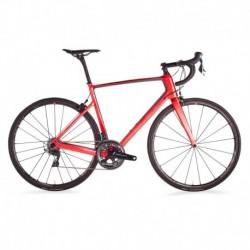 Bicicleta de Carretera VAN RYSEL EDR CF DURA ACE Rojo