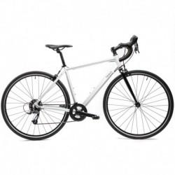 Bicicleta de Carretera TRIBAN Easy Mujer Blanca