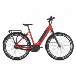 Bicicleta de Ciudad Mujer GAZELLE Ultimate C8+ HMB L Rojo