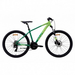Bicicleta de Montaña para niños MONTY KX9 26'' Verde 12-14 años
